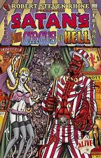 Satan's 3-Ring Circus of Hell by Robert Steven Rhine (2005, Paperback), SIGNED!!
