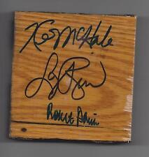 Kevin McHALE LARRY BIRD Robert PARISH AUTO Celtics Boston Garden Floor JSA