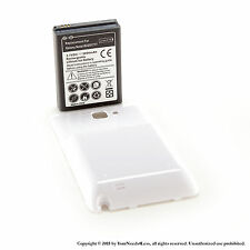 5000mAh Extended Battery for Samsung Galaxy Note SGH-i717 White Cover