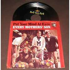 EVERY MOTHERS' SON - Put Your Mind At Ease PS Garage Psych US 67'