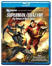 Superman Shazam Return of the Black Adam Blu-ray Reg B