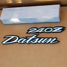 Datsun 240z Deck Lid/Hatch Emblem Set *NOS Original* RARE