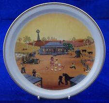 Villeroy & and Boch SCENES OF AUSTRALIA No4 The Homestead plate N Wildman BF005