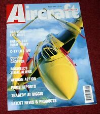 Aircraft Illustrated 2001 August Boeing 747,RNZAF,Sea Vixen,C-17,Roots Air