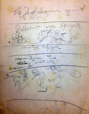 Julian Ritter - Notes and  Sketches for Future Painting Pencil on Paper 87