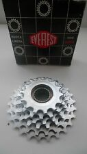 Vintage Classic 80's Everest Silver  6 Sd Freewheel 4 Campagnolo Hubs 14-26