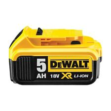 Genuine Dewalt DCB184 18v 5.0Ah XR Li-Ion Lithium Slide Battery
