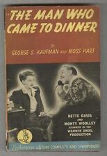 The Man Who Came to Dinner VG 1942 Bette Davis photo cover