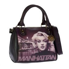 Borsa Donna Disney Bauletto tracolla Audrey Marilyn Monroe Brooklyn Bridge 93988