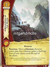 A Game of Thrones 2.0 LCG - #018 Mountains of the Moon-Lions of Castel Granito