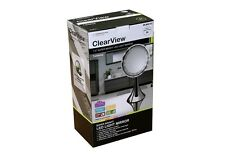 "ClearView 7.5"" LED 5x Magnifying Mirror MLMIR107 Make Up Vanity Shaving Eyebrows"