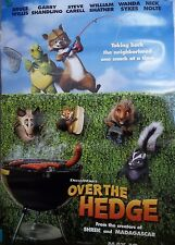 2006 Over The Hedge Original Double Sided Movie Poster 27x40