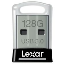 New Lexar 128GB JumpDrive S45 USB 3.0 Flash Drive Memory Stick 150MB/s - Black