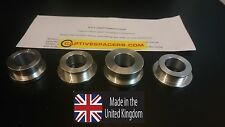 Kawasaki ZX10 ZX10R 2004 - 2005 Captive race wheel spacers. Full set. UK made.