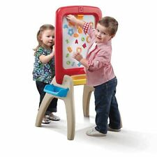 Step2 All Around two-sided Easel for Two, Red/Yellow/Tan Kids fun Activity