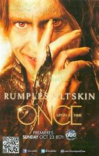 Once Upon A Time: Premieres Rumplestiltskin Robert Carlyle Great Photo Print Ad