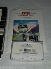 Unused IFR Flight Simulator Commodore 64 Data Cassette FREE US Shipping