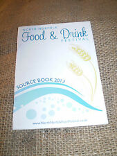 NORFOLK FOOD & DRINK SOURCE BOOK 2013,LIST OF SPECIALIST FOOD SUPPLIERS