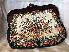 """Vintage La Regale """"Tapestry"""" Clutch Mint Condition"""