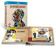 Alfred Hitchcock - The Masterpiece Collection w/ Book [Blu-ray Set, Region Free]