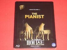 The Pianist 1/4 Slip Blu Ray Steelbook Limited 700 1st Printing from Korea