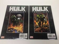 HULK CHRONICLES #1-2 (MARVEL/WORLD WAR/RARE EBAY/0315153) COMPLETE SET LOT OF 2
