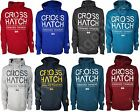 BRAND NEW MENS CROSSHATCH WILBUR HOODIE HOODED TOP SWEATSHIRT SIZE S-XL