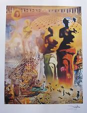 Salvador Dali HALLUCINOGENIC TOREADOR Limited Edition Signed Lithograph