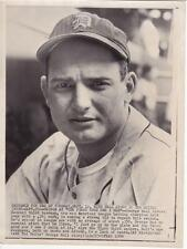 George Kell Vintage 1950 AP Associated Press News Wire Photograph Photo