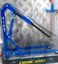 ENGINE HOIST 1:24 BLUE HOBBY GEAR PHOENIX TOYS 18435 NEW GARAGE EQUIPMENT