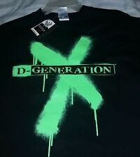 "D-GENERATION X ""TWO WORDS S*CK IT"" WWE Wrestling T Shirts Mens Size  Large"