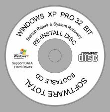 Windows XP Professional 32 bit SP3 CD