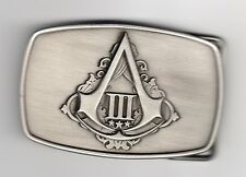 Belt Buckle from Assassin's Creed III 3 Limited Collectors Edition XBOX 360