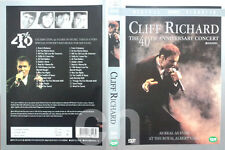 CLIFF RICHARD - The 40th Anniversary Concert (1999)  DVD NEW