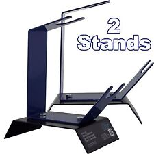 2 x Gravity Feed Spray Paint Gun Holder/Stand For Work Bench/Table Top/Station