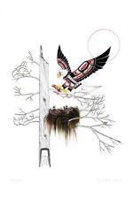 Eaglets Richard Shorty Art Card Northern Tuchone Yukon Native