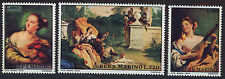 SAN MARINO 1970 MNH SC.733/735 Paintings by Tiepolo