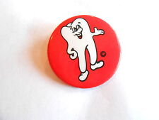 Cool Vintage Ontario Canada Ministry of Health Tooth Dentistry Pinback