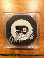 Dale Hawerchuk Autographed Signed Auto Hockey Puck Philadelphia Flyers