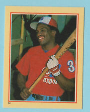 1984 Star Stickers Tim Raines Monteal Expos #51 (KCR)