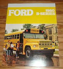 Original 1980 Ford B-Series School Bus Sales Brochure 80