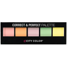 City Color Correct & Perfect Palette 5 Sharde PInk Orange Yellow Green Purple