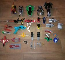 Power Rangers Lot of 33 Parts and Accesssories