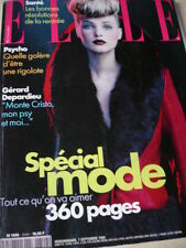 september 1998 #2749 French ELLE Special Mode + Martina Hingis + Lauren Hill