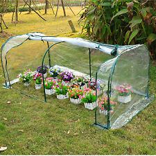 Outdoor 7'x3'x3' Mini Greenhouse Portable Plant Flower Gardening Hot House New