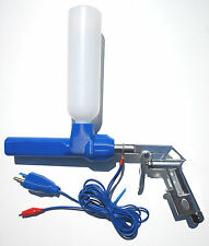 NordicPulver powder coating gun with US earth ground plug