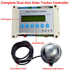Solar Tracking Tracker Dual Axis LCD Controller for Solar Cell Panel System Kits