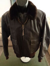 G-1 Cooper Leather Flight Jacket USCG USMC Marines USN ISSUE 44 •Nice•