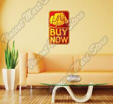 """Online Shopping Hand On Mouse Buy Wall Sticker Room Interior Decor 18""""X25"""""""