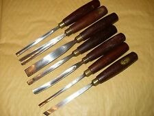 7 x Iles Carving Tools / Gouges - As Photo